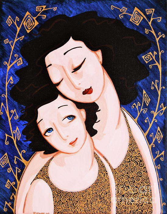 Mother-and-Daughter-by-Rebecca-Mott