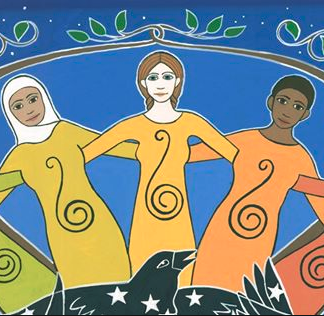 Sister Circle by Karen MacKenzie, detail